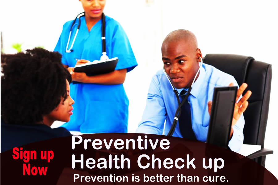 medical health check in Lagos